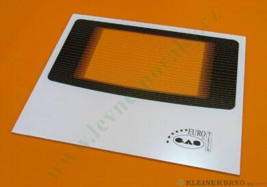 Sklo dvířek vnější Mi01 B 500x403 mm(G101504)