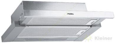 MORA OT 651 X - odsavač par výsuvný, š=60 cm, nerezová čelní lišta(OT651X)