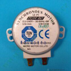 Motor otoč. talíře MT TYJ50-8A7 230V, 4W, 6 ot. ( shodné s 104213, 245389 )(101360)