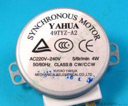 Motor otoč. talíře MT 49TYZ-A2 230V, 4W, 6 ot. ( shodné s 101360, 245389 )(104213)