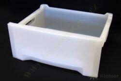 Zásuvka plast. bílá mrazničky