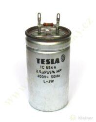 Kondenzátor rozběh. 2,5uF čerpadla NTR ( zrušeno bez náhrady )