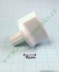 Knoflík sporáku - bílý ( zrušeno bez náhrady )
