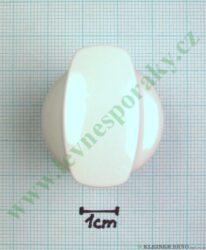 Knoflík sporáku - bílý ( zrušeno bez náhrady )(130141)