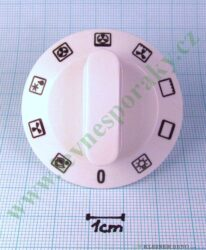 Knoflík přepínače trouby VT06.1020 ( shodné s 139274, 139437, 594035 )