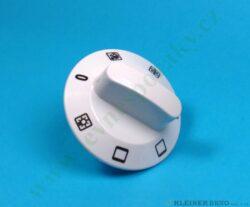 Knoflík přepínače trouby VT16, ZT16 - bílý