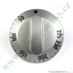 Knoflík termostatu trouby - nerez ( shodné s 139191, 139438 )