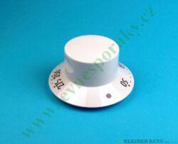 Knoflík termostatu trouby - bílý ( shodné s 375663 )