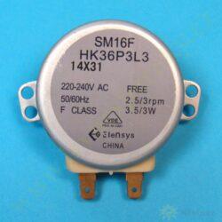 Motor otoč. talíře SM16F HK36P3L3 14X31, 230V, 3W, 2,5-3 ot. ( shodné s 136205 )(175214)