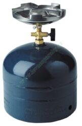 Vařič plynový 1-hořákový MEVA SOLO přímotlaký 2153 II. jakost-Jednohořákový vařič ( campingový vařič ) na propan-butan II. jakost