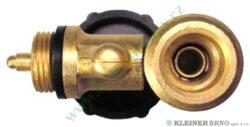 Ventil W21,8L ( levý závit ), boční vývod MEVA 2156UVB(2156UVB)