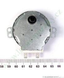 Motor otoč. talíře SM-16T 30V, 3W, 6 ot.(shodné s 256576,264468,264490,314546)(225450)