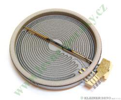Těleso topné sálavé 210/175/120, 2300/1600/800W ( shodné s 642302, 642303 )