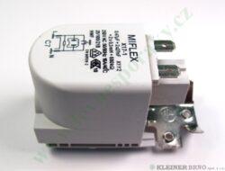Kondenzátor odruš. 0,47uF+2x27nF PS (shodné s 124488,192570,193899,291559...-Shodné i s 431466, 587575, 587576.