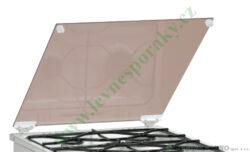 Příklop skleněný, bílý, kompletní MORA ( shodné s 348614 )
