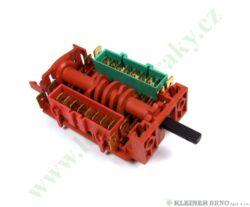 Přepínač troubový 11HE/025 K44 ( shodné s 617743, 599150 )