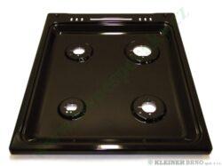 Deska vařidlová černá pro nerezové a INOX sporáky ( shodné s 491208 )
