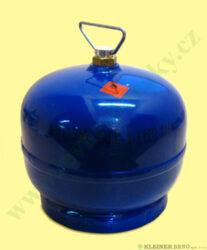 Láhev 2 kg ( bez náplně ) MEVA 316-Ocelová láhev 2 kg ( bez náplně ) - nové provedení