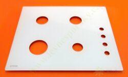 Deska skloker. varného plynového panelu PVK 61 PROG 040 LEP
