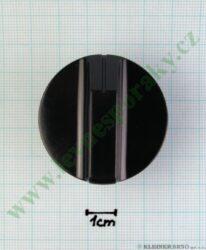Knoflík hnědý 22 E jednot. EV6401,6301