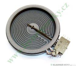 Těleso topné sálavé 145, 1200W Hi Light ( shodné s 225839, 479939, 607616 )-EGO 10.54113.004