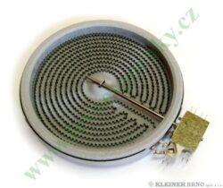 Těleso topné sálavé 180, 1800W HEC 797 ( shodné s 225841 )-EGO 10.58113.004