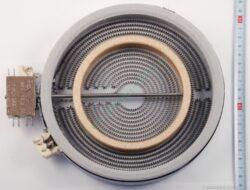 Těleso topné sálavé DUO 180/120, 1700/700W skloker.HL  ( shodné s 607621 )-EGO 10.58213.004