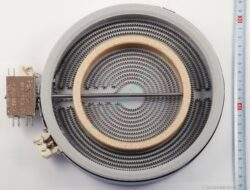 Těleso topné sálavé 180/120, 1700/700W skloker.HL, dvojitá