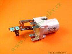 Kondenzátor odrušovací 0,1uF+1 OHM+2x0,0027uF PMS ( zrušeno bez náhrady )