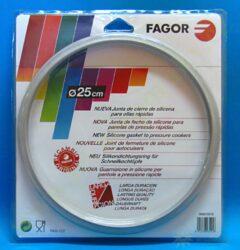 Těsnění pro tlakové hrnce FAGOR o vnitřním průměru 25 cm, od 8 l (za M18804555)