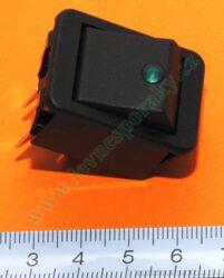 Hlavní vypínač-zelená kontrolka BETA Electronic, Comfort od 11/2004