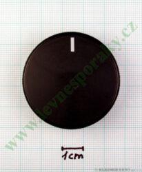 Knoflík černý k potenciometru průměr 40 mm BETA Electronic, Comfort od 11/2004