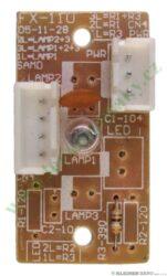 Panel osvětlení (tištěný spoj) KVI-21 B