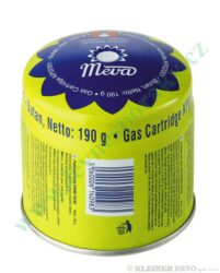 Kartuše 190g - propichovací - STOP GAS MEVA KP02001