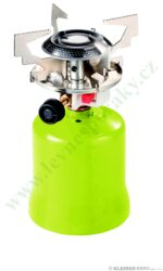 Vařič plynový 1-hořákový  kovové tělo MEVA FOCUS piezo KP06010P-Vařič FOCUS na propan - butan piezo