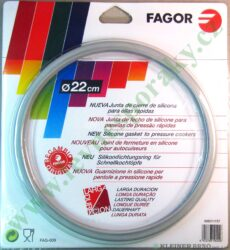 Těsnění tlak.hrnce 4-7 lt.šedé,vnitř.pr.22cm FAG-0 ( za 998010020, M18802814 )-i za AS0013685