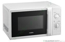 MORA MT 120 W - trouba mikrovlnná, volně stojící, bílá-mikrovlnná trouba 20 l, volně stojící, výkon 700 W