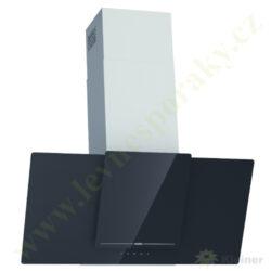 MORA OV 981 GBX PREMIUM - odsavač par komínový, š=90 cm, černé sklo+nerez-Odsavač par komínový o šířce 90 cm