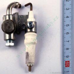 Hořák zapalovací s elektrodou ZP  408 (shodné s T11676+T12113)(zrušeno)