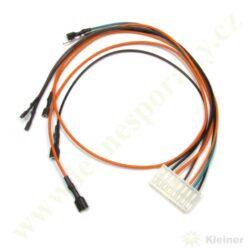 Kabeláž řídící jednotku-pro bat. Mertik 2014, nový typ(+T90048-A náhrada T90048)-Kabeláž může být krátká a potom je potřeba ji prodloužit pomocí dalších vodičů !!!