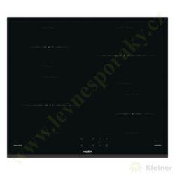 MORA VDIT 651 FF PREMIUM - indukční vestavná varná deska samostatná-Indukční vestavná sklokeramická deska, přední hrana zkosená, ostatní broušené