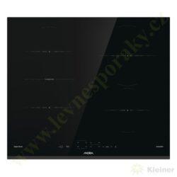MORA VDIT 654 FF PREMIUM - indukční vestavná varná deska samostatná-Indukční vestavná sklokeramická deska, přední hrana zkosená, ostatní broušené
