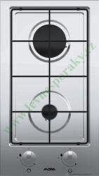 MORA VDP 325 X - deska plynová, 2 hořáky, NEREZ-Plynová vestavná deska