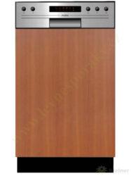 MORA VM 533 X - myčka vestavná 45 cm, nerez panel A++, A, A-Vestavná myčka s nerez panelem o šířce 45 cm, A++, A, A