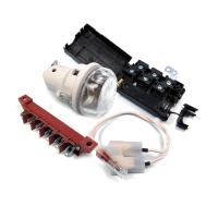 Žárovky, kontrolky, objímky, krytky, kondenzátory, pojistky, svorkovnice ...